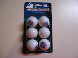 NEW YORK METS MLB TEAM TABLE TENNIS BALLS - NEW IN SEALED PA