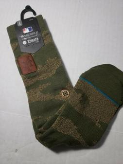 New York Mets MLB Stance Utility Crew Socks Camo Men Large 9