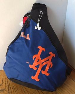 NEW YORK METS- MLB Vintage Blue Sling Book Bag Back Pack Sch