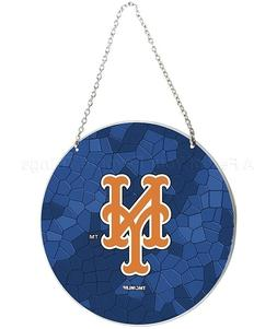 New York Mets MLB Window Art Glass Sun Catcher Baseball Team