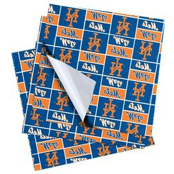 New York Mets MLB Wrapping Paper - Roll - FREE SHIPPING