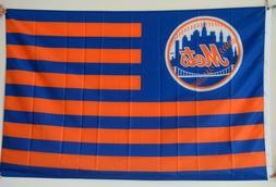 New York Mets Nation flag 3x5ft banner US Shipper