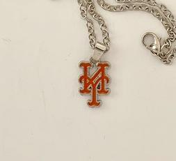 New York Mets Necklace-- NY Logo