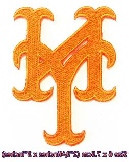 New York Mets NY  Baseball Sport Embroidery Patch logo iron,