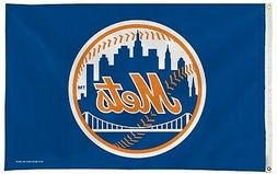 New York Mets NY Premium 3x5 Flag w/Grommets Outdoor House B