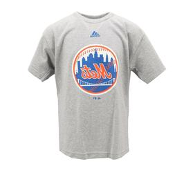 New York Mets Official MLB Adidas Apparel Kids Youth Size T-