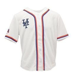 New York Mets Official MLB Genuine Apparel Kids Youth Size J