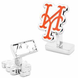 New York METS Palladium CUFFLINKS licensed by MLB NEW in Box