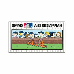 New York Mets Peanuts Happiness Cloisonne Pin