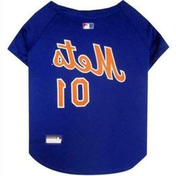 New York Mets Pet Dog MLB Licensed Dugout PetWear Jersey All