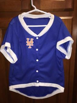 New York Mets Hunter Pet Gear JERSEY Blue Top Sz XL NEW NWT
