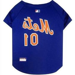 New York Mets Pet Jersey from StayGoldenDoodle.com