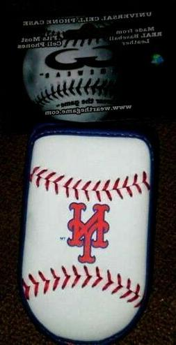 New York Mets Phone Case Holder Leather Flip Old School Styl