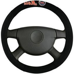 new york mets poly suede steering wheel