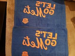 New York Mets Rally Towels - New Set of 2 - 2018 Citiperks S