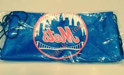New York Mets SGA Drawstring Backpack Bag FSN New York TV