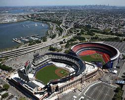 NEW YORK METS SHEA STADIUM AND CITI FIELD  8X10 GLOSSY PHOTO