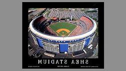 New York Mets SHEA STADIUM CLASSIC GAMEDAY Aerial View Premi