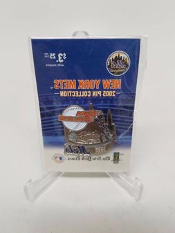 New York Mets SHEA STADIUM Pin from NY TIMES 2005 Collection