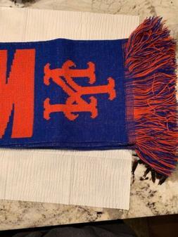 New York Mets Split Logo Reversible Scarf MLB Forever Collec