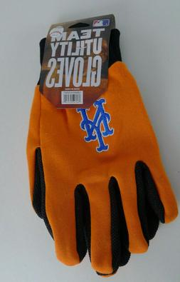 New York Mets Sport Team Utility Gloves Baseball No Slip Gri