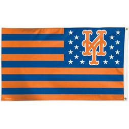New York Mets WinCraft Stars & Stripes Deluxe Indoor Outdoor