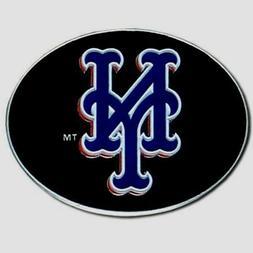 New York Mets Team Logo Belt Buckle  Licensed