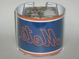 New York Mets Team Logo Desk Caddy with 750 Sheet Note Pad