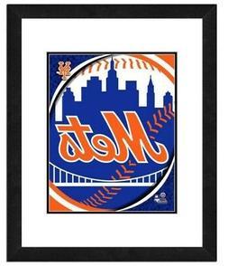 Photo File New York Mets Team Logo Framed Print Picture Artw