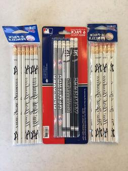 NEW YORK METS TEAM PENS GREAT HOLIDAY GIFT 3 PACKS PER FREE