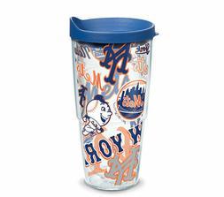 New York Mets Tervis Travel Tumbler 24 ounce
