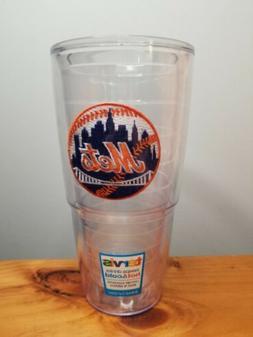 New York Mets Tervis Travel Tumbler 24 ounce No Cap