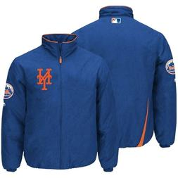 New York Mets Majestic Therma Base Thermal Full-Zip Jacket