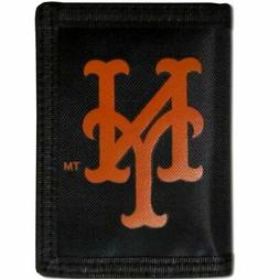 New York Mets Trifold Nylon Wallet MLB Licensed Baseball