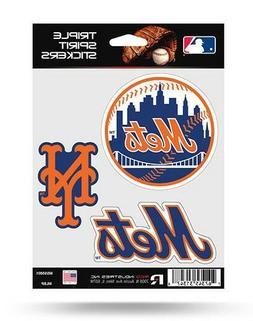 New York Mets Triple Spirit Sticker Sheet Die Cut Decal New