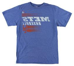 Majestic New York Mets Turning Tables Tshirt Blue