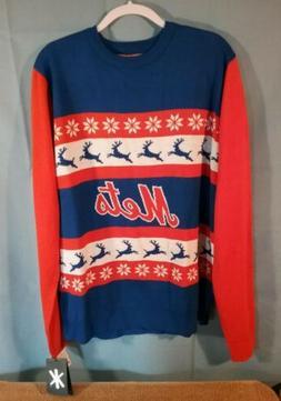 New York Mets ugly christmas sweater