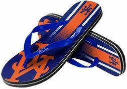 New York Mets MLB Unisex Mens Gradient Flip Flops Sandals Ba