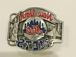 New York Mets vintage belt buckle 1988.limited to 10.000