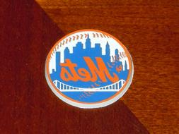 NEW YORK METS Vintage Old MLB RUBBER Baseball FRIDGE MAGNET