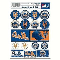 New York Mets Vinyl Die-Cut Sticker Set / Decal Sheet *Free