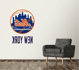 New York Mets Wall Decal Logo Baseball MLB Art Sticker Vinyl