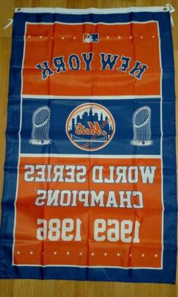 New York Mets World Series 3x5 Flag. Free shipping within th