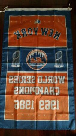 New York Mets World Series 3x5 Flag. US seller. Free shippin