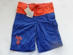 New York Mets YOUTH Boys Swimming Trunks / Bathing Suit -New