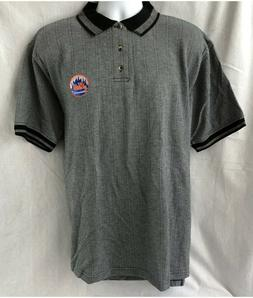 NEW YORK NY METS TRUE FAN EMBROIDERED POLO GOLF SHIRT L XL 2