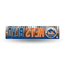 "New York NY Mets MLB Baseball 16"" Street Sign Fan Wall Decor"
