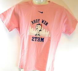 NEW Youth Girls Kids NIKE New York Mets NY Baseball MLB Pink