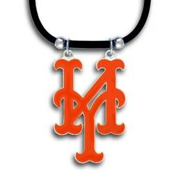 New York Mets Official MLB Rubber Cord Necklace by Siskiyou