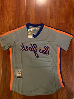 Noah Syndergaard New York Mets #34 Throwback Jersey Size L